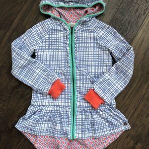 Girls Matilda Jane Sweatshirt Zip Up Jacket 10